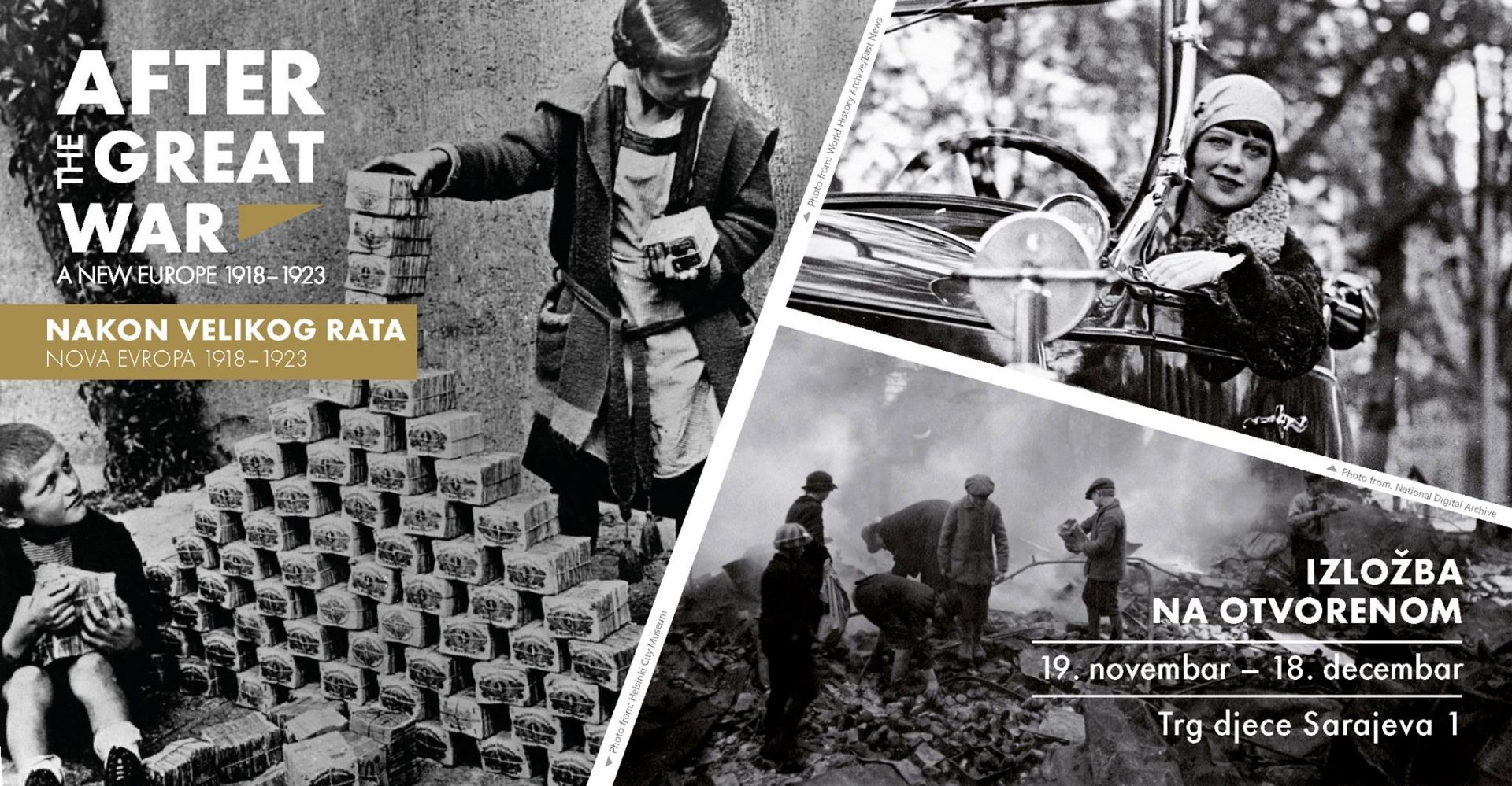 AFTER THE GREAT WAR  A NEW EUROPE 1918-1923 | Post Conflict Research